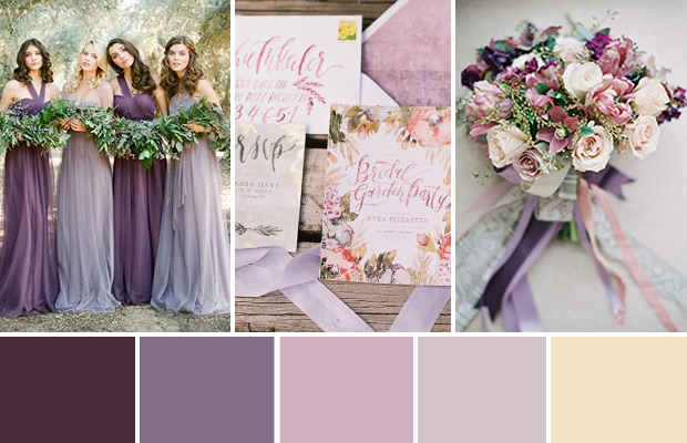 Wedding Ideas Colour Themes